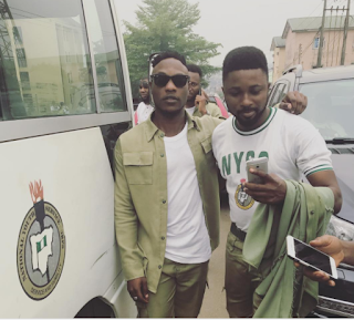 Singer L.A.X Completes NYSC (Photo) «