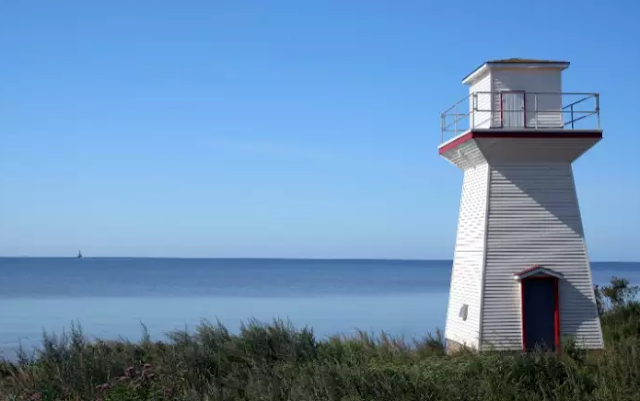 A Light House Close To A Canadian Water Top 10 World's Happiest Countries 2017