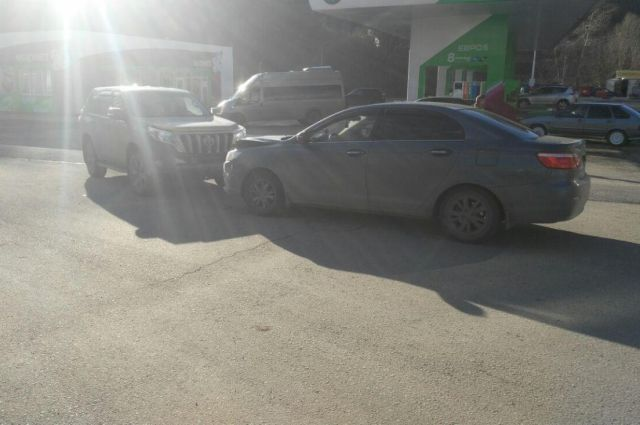 ДТП в Уфе: столкнусь две машины, пострадал малыш