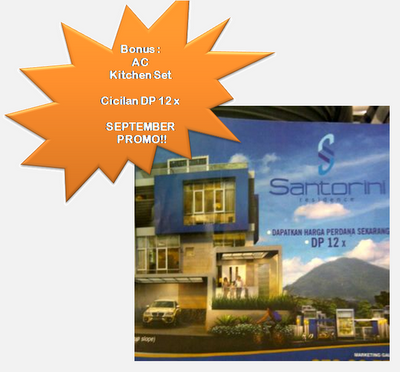 New Cluster At Sentul City: Santorini Residence