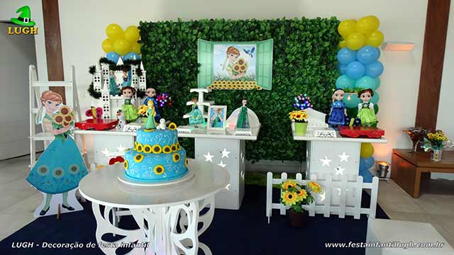 Decoração Aniversário da Anna em Frozen - Uma Febre Congelante para festa infantil - Jacarepaguá - RJ