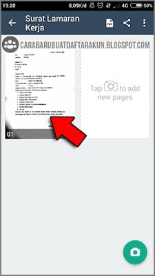 cara scan dokumen ke pdf