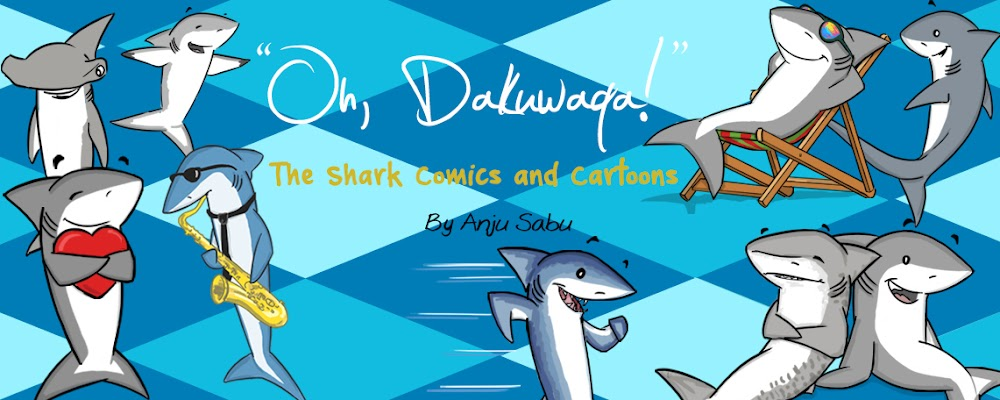 """Oh, Dakuwaqa!"" - The Shark comics and cartoons"