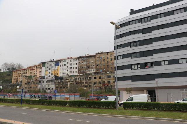 Parcela en donde se levantarán las 72 viviendas promovidas por el Gobierno Vasco