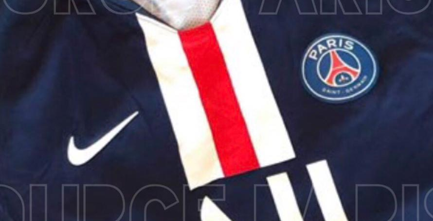 8440bf5c2 PSG 19-20 Home Kit Leaked - Exclusive Pictures