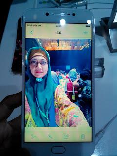 Hasil Selfie dengan kamera depan #VivoV5