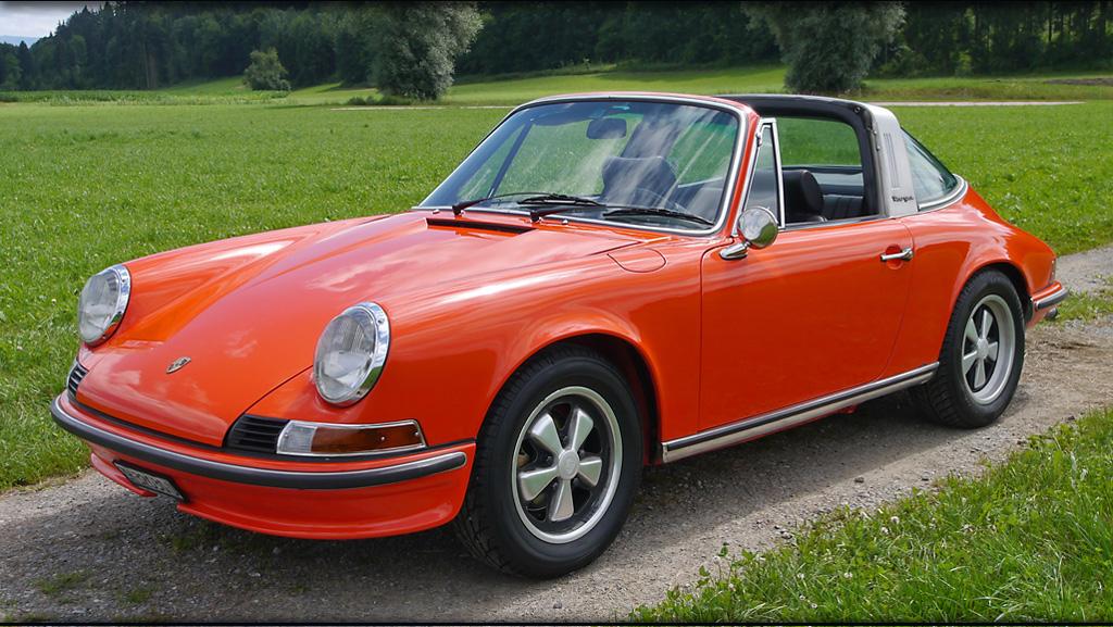1972 Porsche 911t Targa Car Info