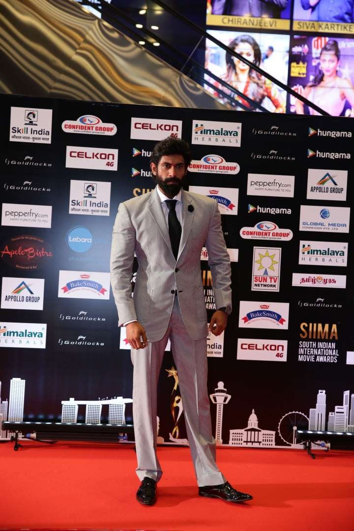 Rana Daggubati took home the Best Actor in Negative Role Telugu award for his performance in Baahubali