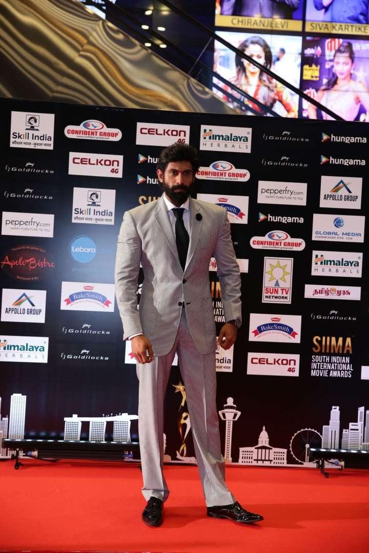 Rana Daggubati took home the Best Actor in Negative Role Telugu award for his performance in Baahubali