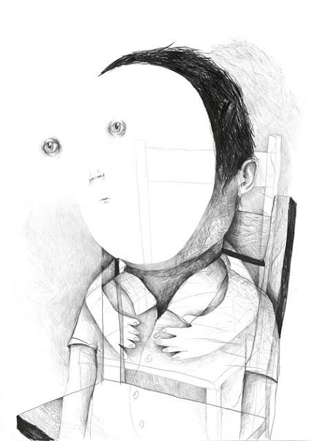 """Ghost"" por Stefan Zsaitsits, 2010 