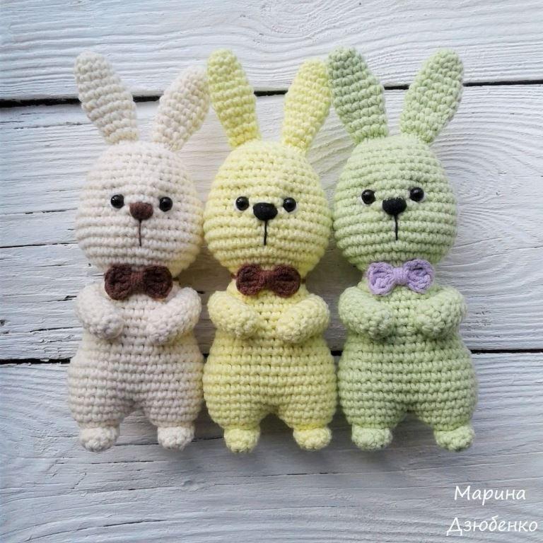 Пасхальные кролики схема