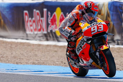 Marc Marquez Tercepat Kualifikasi MotoGP Aragon 2016