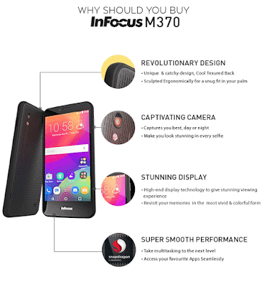 Infocus M370i (8GB) At Rs.4999 From Snapdeal