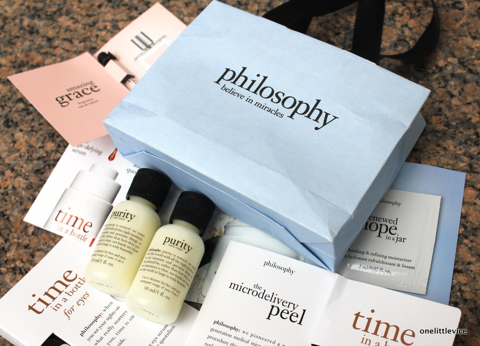 one little vice beauty blog: philosophy skincare available at john lewis
