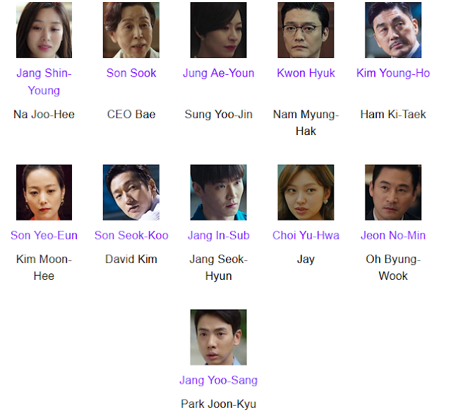 Suits Korean Drama  Cast