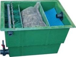 El estanque y el pez bombas y filtros for Filtros para estanques de peces caseros