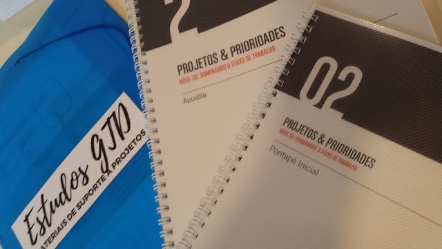 Como foi o Curso GTD Nível 2 - Projetos e Prioridades