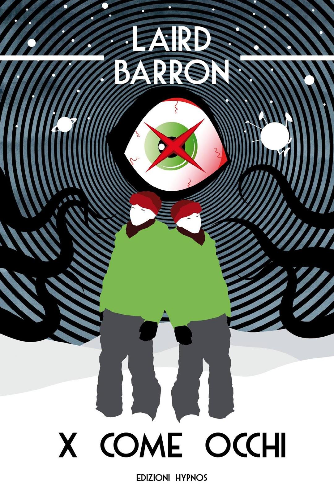 X come occhi, 2016, copertina