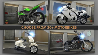 Game Racing Untuk Android Traffic Rider