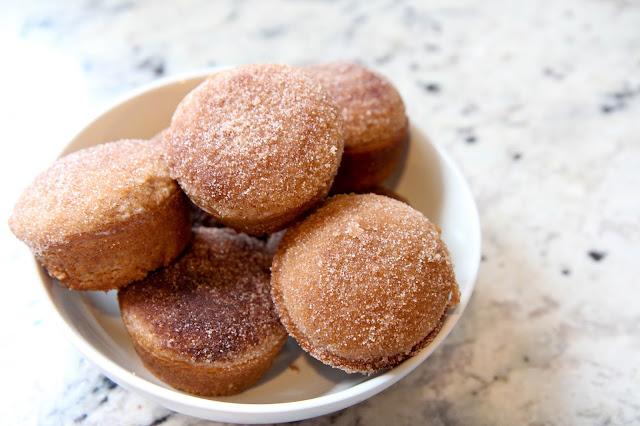 Cinnamon Sugar Doughnut Muffins
