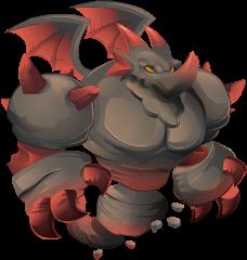 Dragón Piedra Oscura