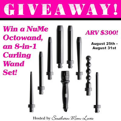 Enter the NuMe Octowand Giveaway. Ends 8/31