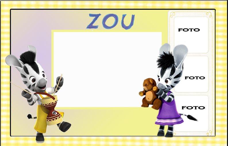 Zou, Free Printable Invitations, Labels or Cards.