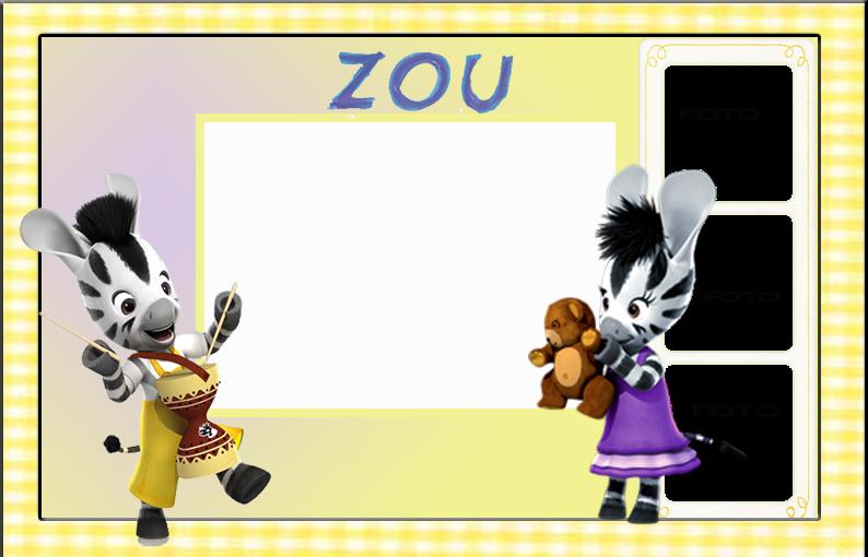 Para hacer invitaciones, tarjetas, marcos de fotos o etiquetas, para imprimir gratis de Zou.