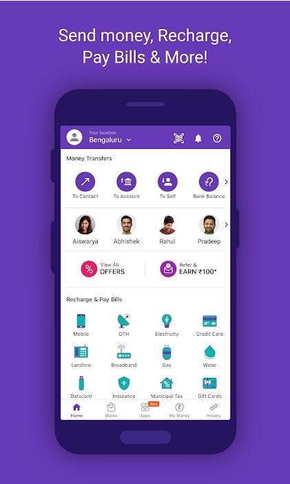 Apps for students PhonePe app