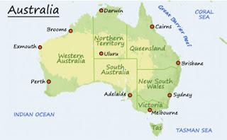 negara negara bagian australia