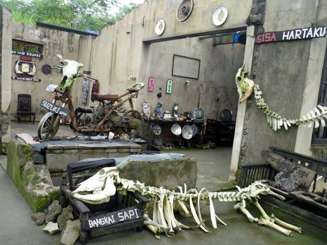 Musium Sisa Hartaku, Melihat Jejak Wedhus Gembel di Lereng Merapi Yogyakata