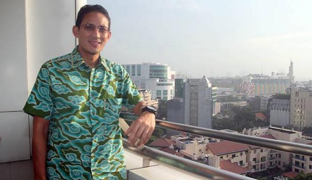 Datangi Balaikota DKI, Sandiaga: Balai Kota DKI Akan Jadi Kantor Saya pada 2017