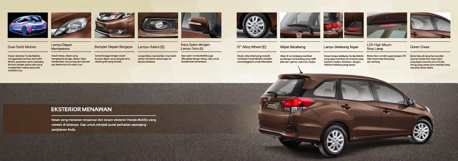 Fitur - Fitur Mobil Honda Mobilio