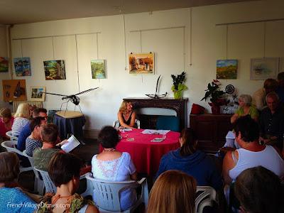 Charroux Lit Fest Earlybird booking 2017 French Village Diaries