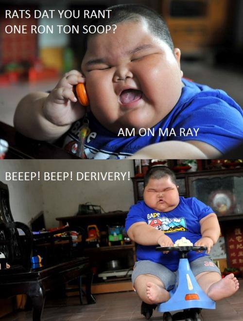RedHotPogo: Fat Chinese Kid Meme 5