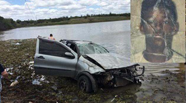 Suspeito morre em acidente após assalto no município de Pindobaçu