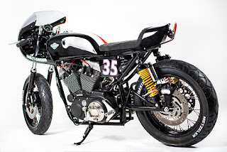 sportster 1200 tt racing by rsm side left