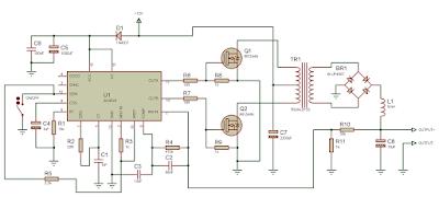Простой преобразователь на микросхеме SG3525