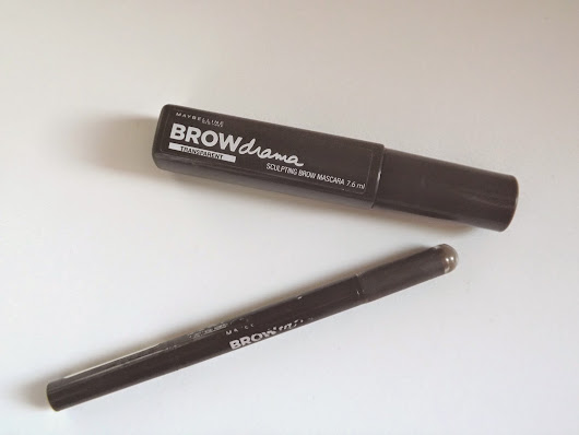 My favourite brow products: Maybelline Brow Products
