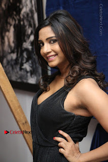Telugu Actress Kamna Singh Stills in Black Dress at Bharat Thakur Art Exhibition Launch  0066.jpg