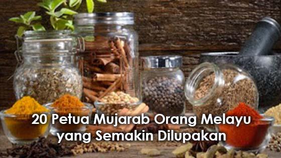 20 Petua Masyarakat Melayu yang Semakin Ditelan Zaman
