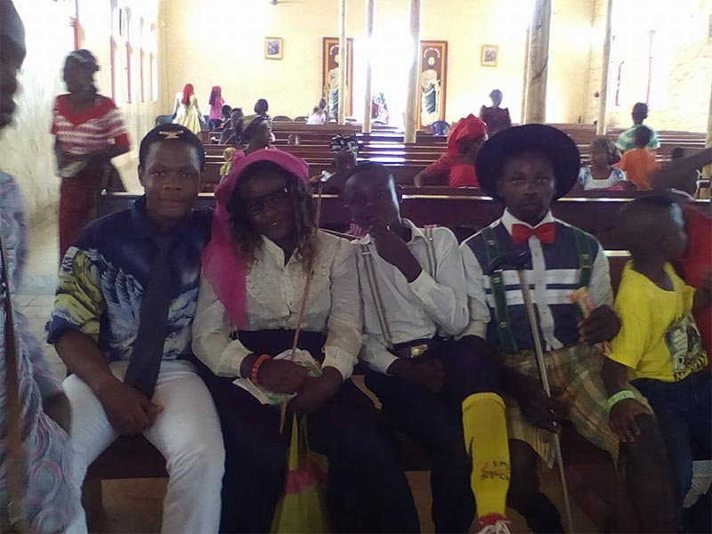 Photos from Old School Day at Enugu State Catholic Church