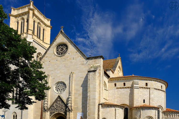 Le Chameau Bleu - Blog Voyage à Vélo Canal de l'entre deux mers - Cathédral Saint Caprais d'Agen - Lot et Garonne - France