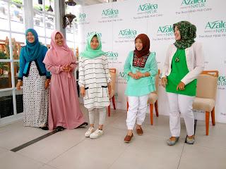 Blogger Palembang Alma Wahdie