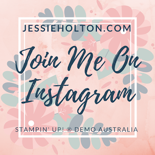 Jessie Holton - Stampin Up Demo Instagram