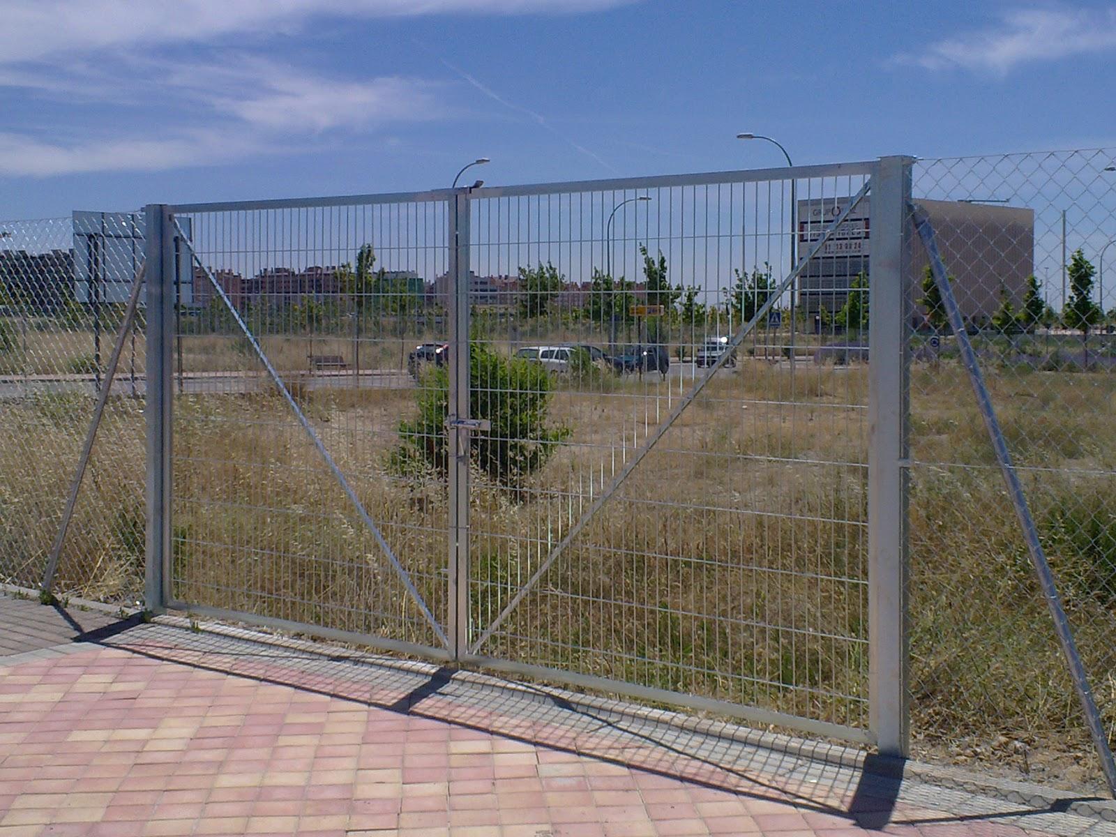 Cercados gp oferta del mes puerta de 4m por - Puertas para vallas ...