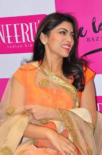 Actress Shriya Saran Latest Pictures at The Label Bazaar Curtain Raiser Event 0017