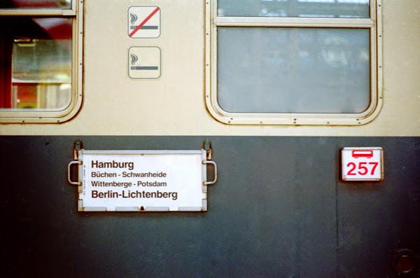 Hambourg, Deutsche Bundesbahn, © L. Gigout, 1990