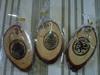 souvenir gantungan kunci lafadz arab kayu pinus