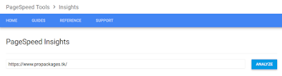 google speed faster by page insights